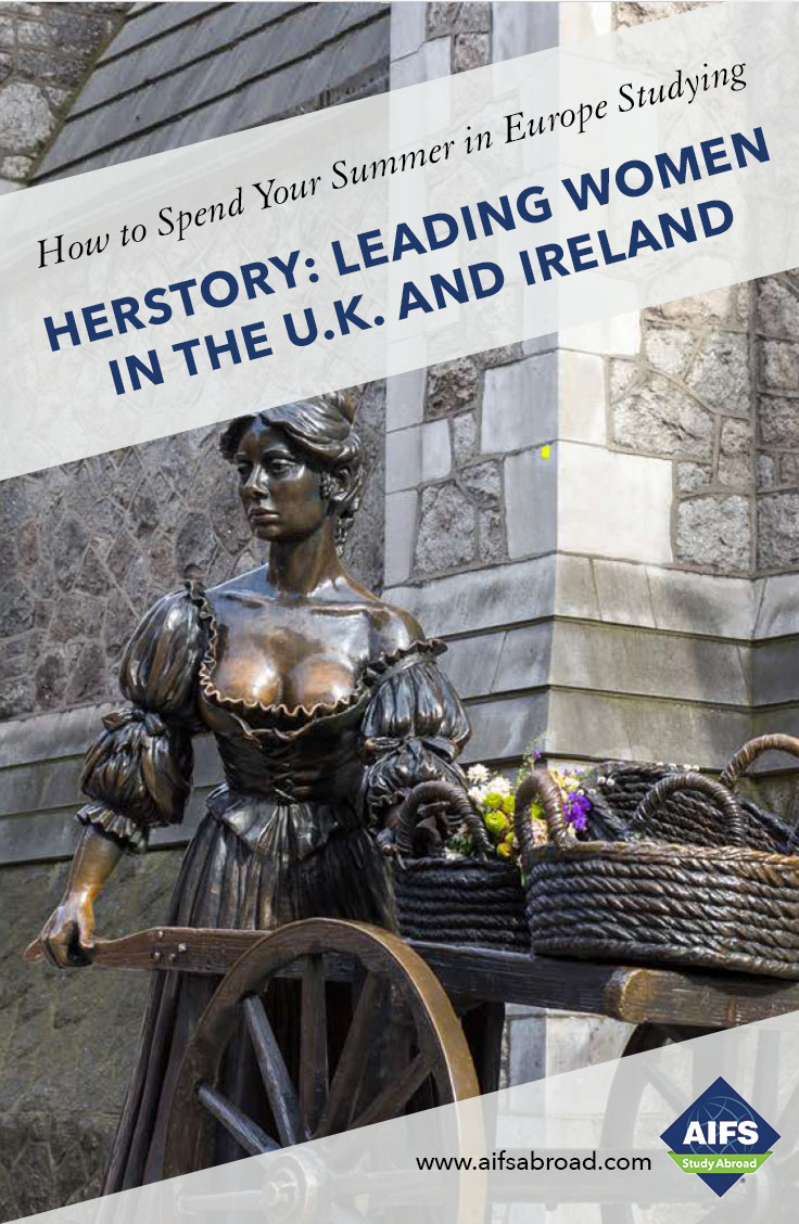 AIFS Study Abroad in Herstory: Leading Women in the U.K. and Ireland, Study & Travel Program