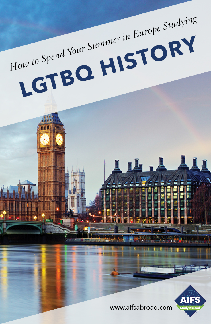 AIFS Study Abroad in LGBTQ+ Europe: History, Culture and Community, Study & Travel Program