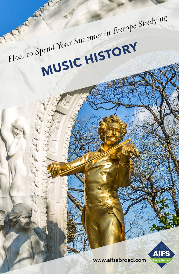 AIFS Study Abroad in Music History in Germany and Austria, Study & Travel Program