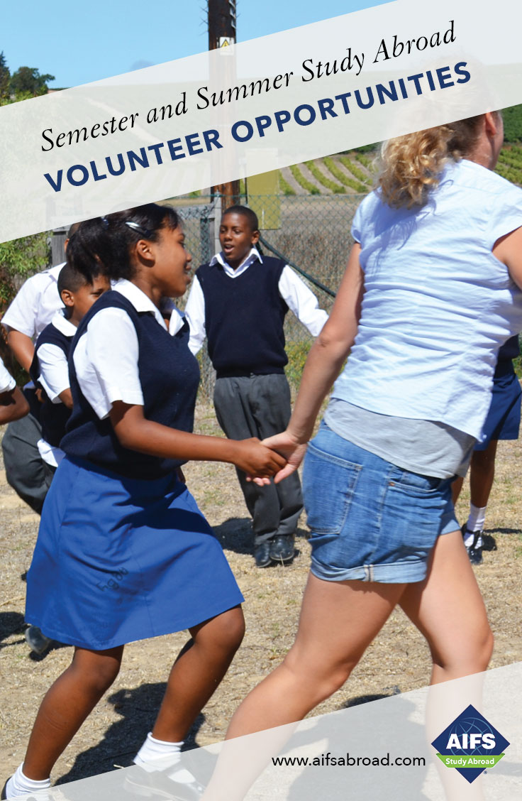 AIFS Study Abroad in Volunteer