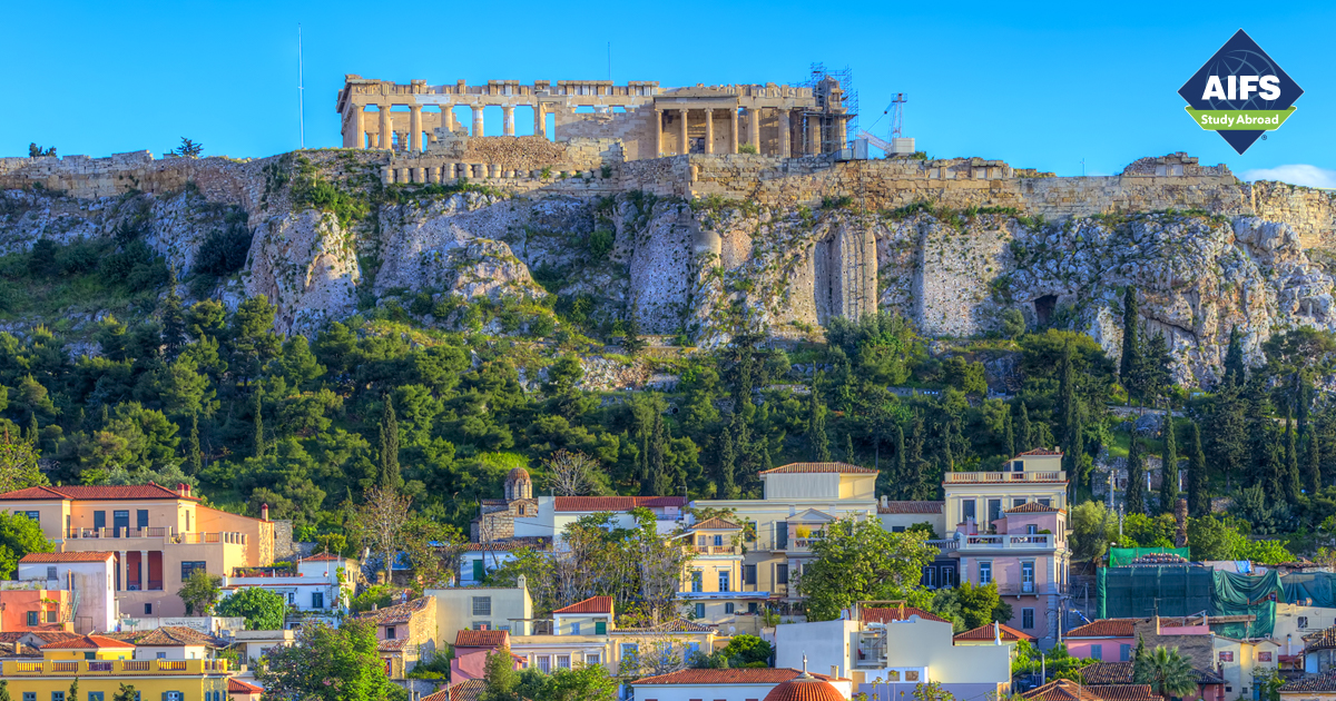 AIFS Study Abroad in Athens, Greece