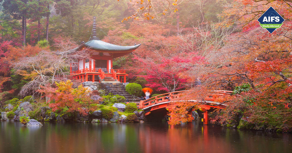 AIFS Study Abroad in Kyoto, Japan