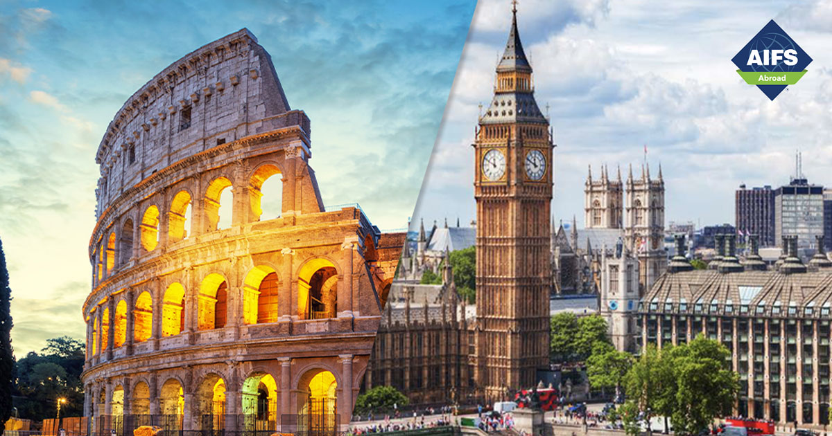 AIFS Study Abroad in London & Rome, Travel