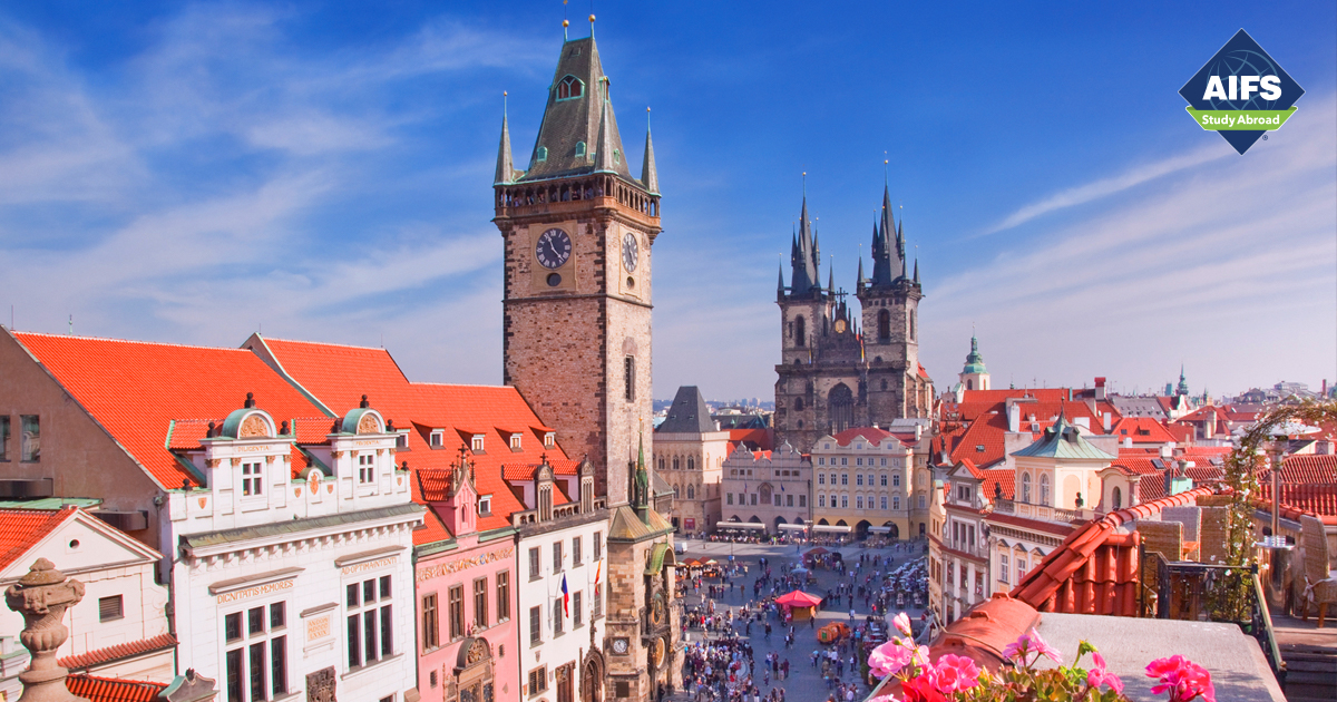 AIFS Study Abroad in Prague, Czech Republic