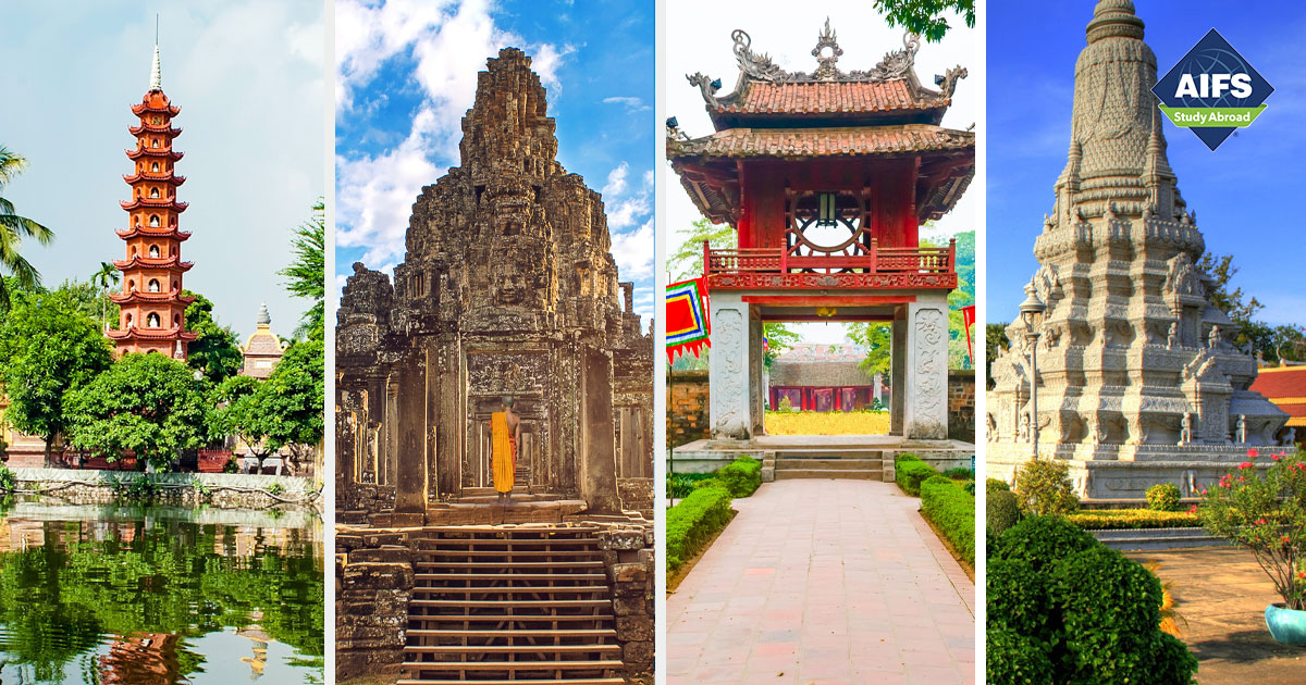 AIFS Study Abroad in Southeast Asia: History, Conflict and Culture in Vietnam and Cambodia, Study & Travel Program